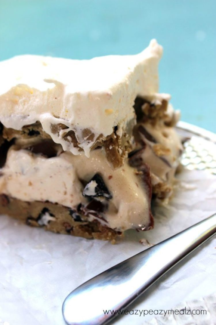 Klondike Bar ice cream cake
