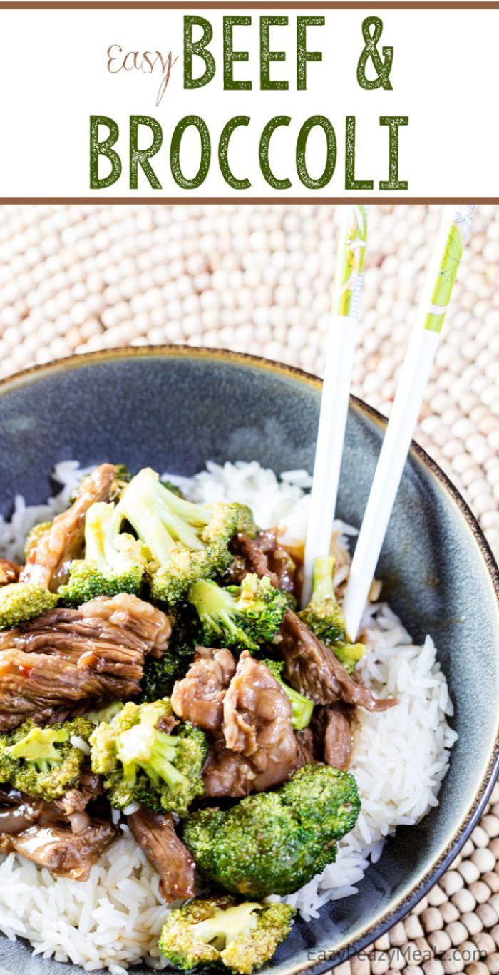 Easy Beef and Broccoli that has insane flavor, and is so easy to be made!
