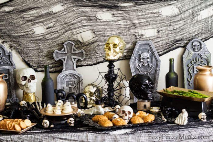 A spooky fun Halloween party!