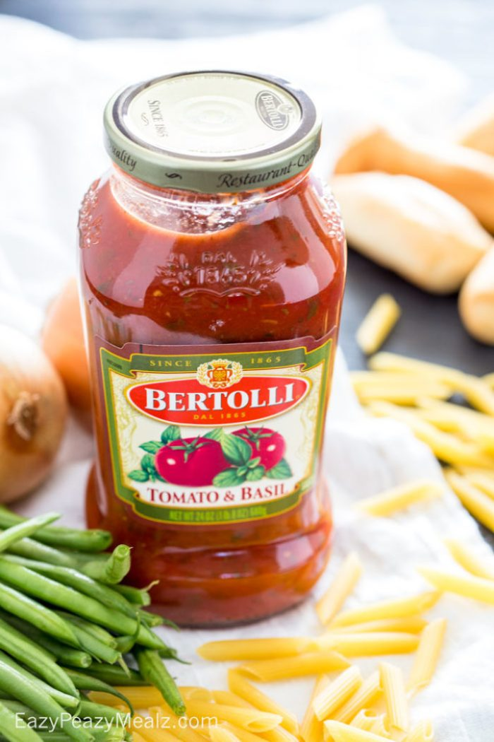 A tasty sauce that will help you feel like you are eating in Italy !