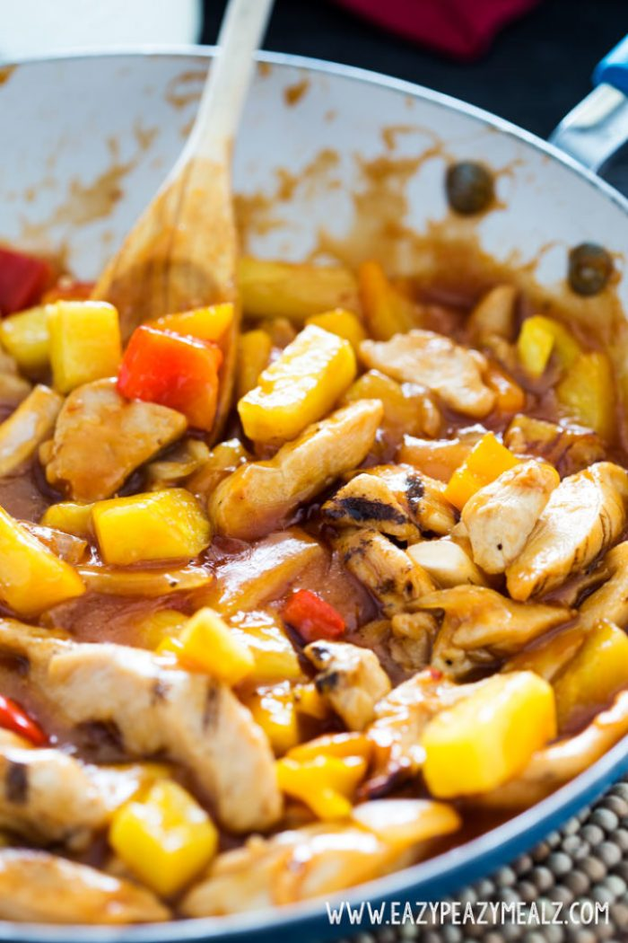 Sweet and Sour Chicken is a quick and easy dinner that has insane flavor, your whole family will love it.
