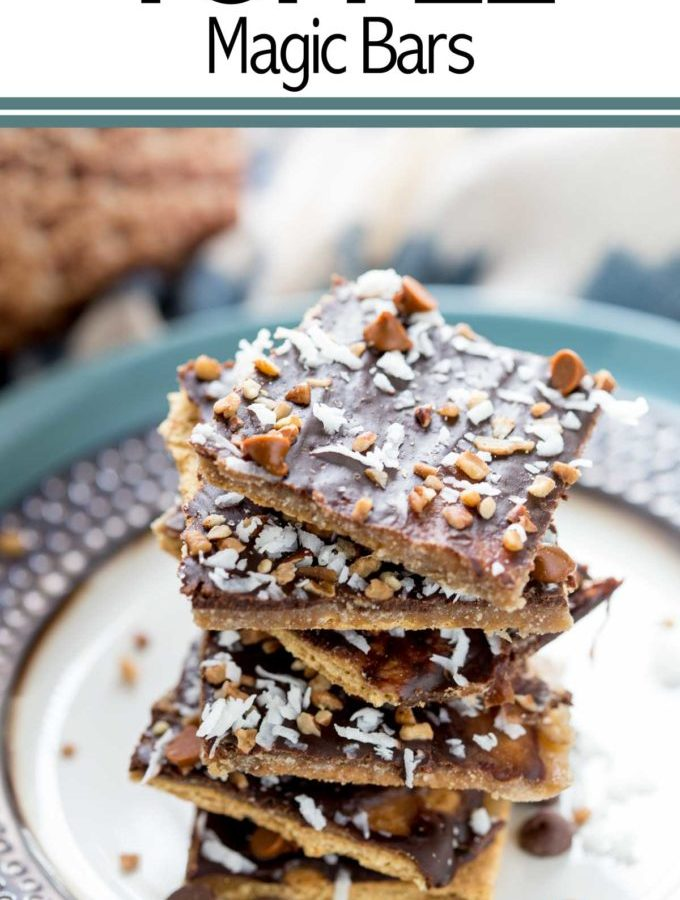 Graham Cracker Toffee Magic Bars are basically the best thing to ever happen to a graham cracker