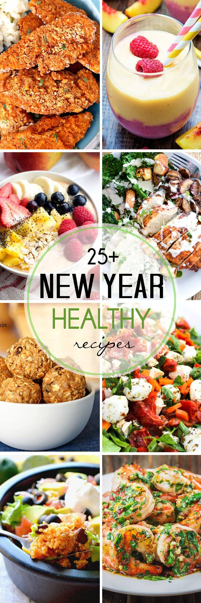 New Year Healthy recipes that will feed your health and taste buds!
