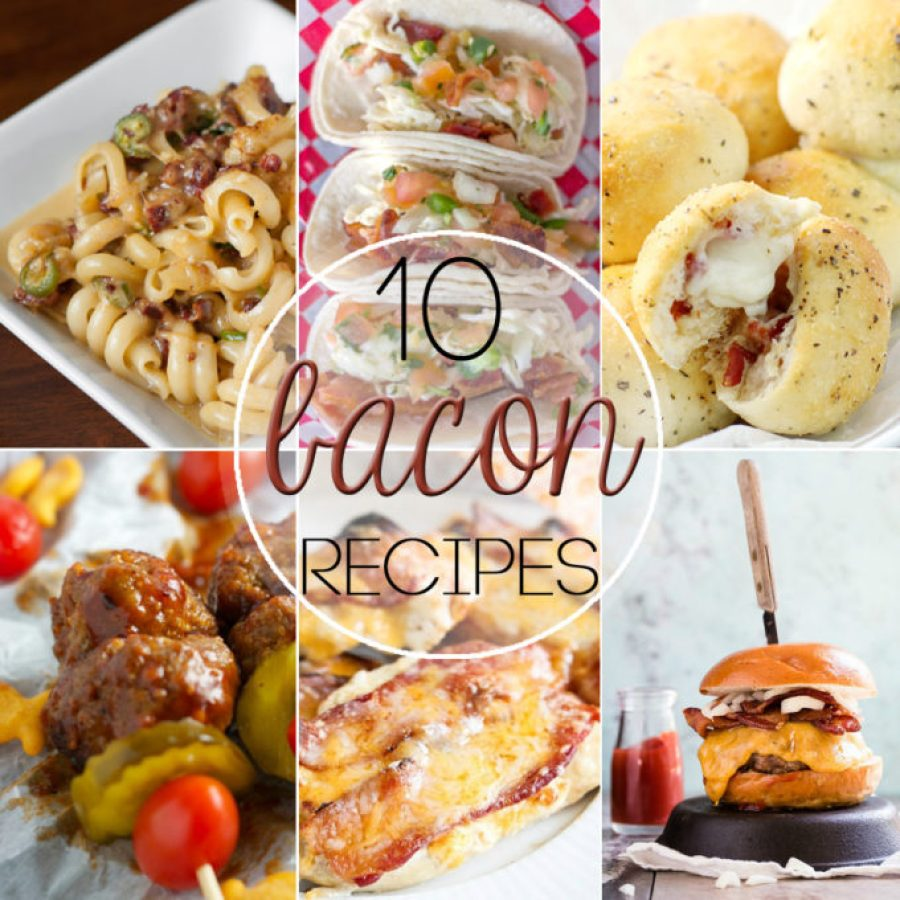 10 Bacon recipes