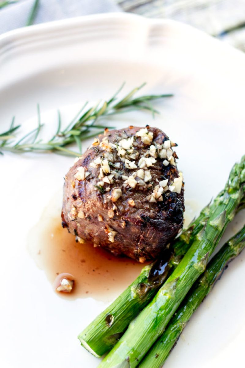 10 Garlic Clove Marinated Grilled Filet