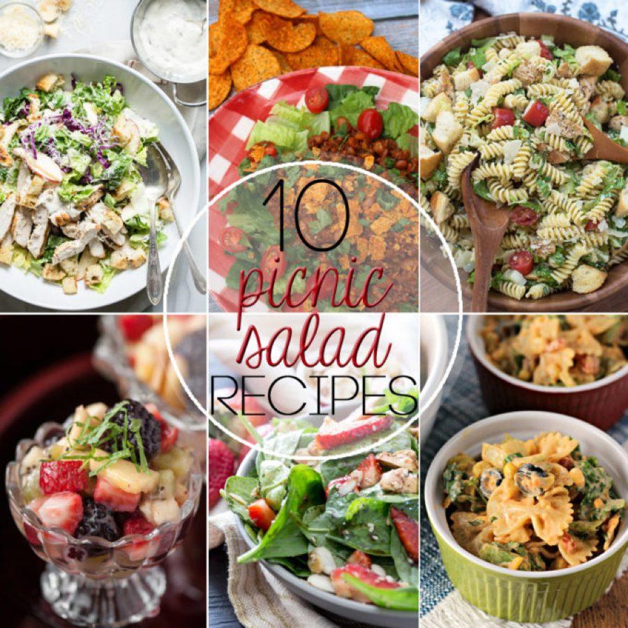 10 picnic salad recipes
