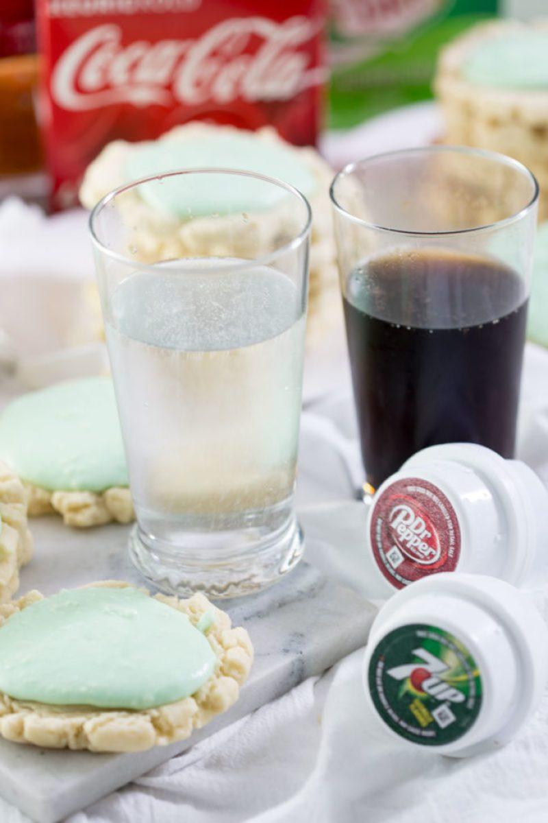 Keurig kold drinks and swig cookies