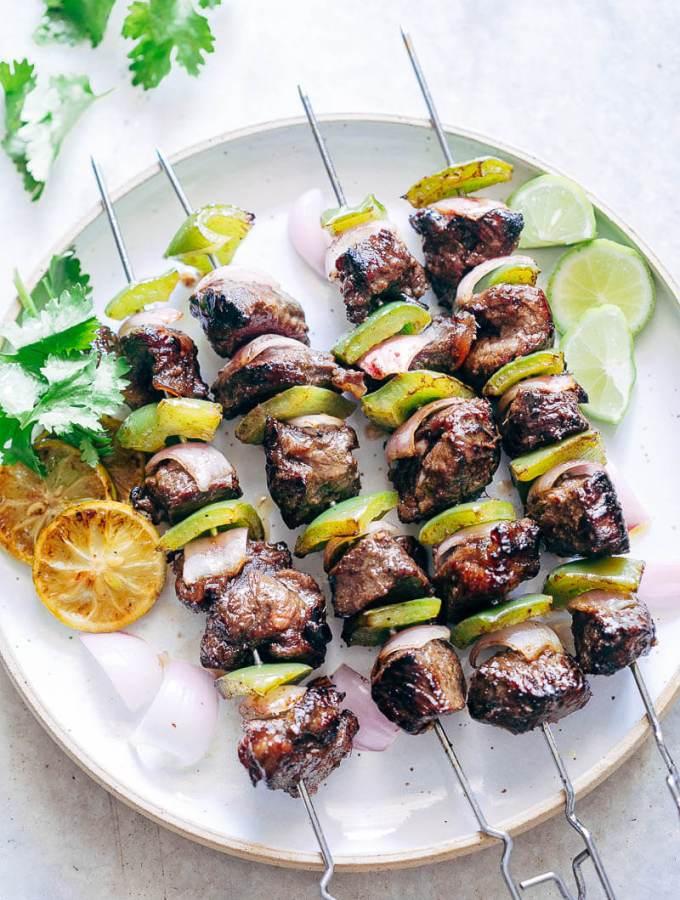 Balsamic Rosemary Beef Kabobs