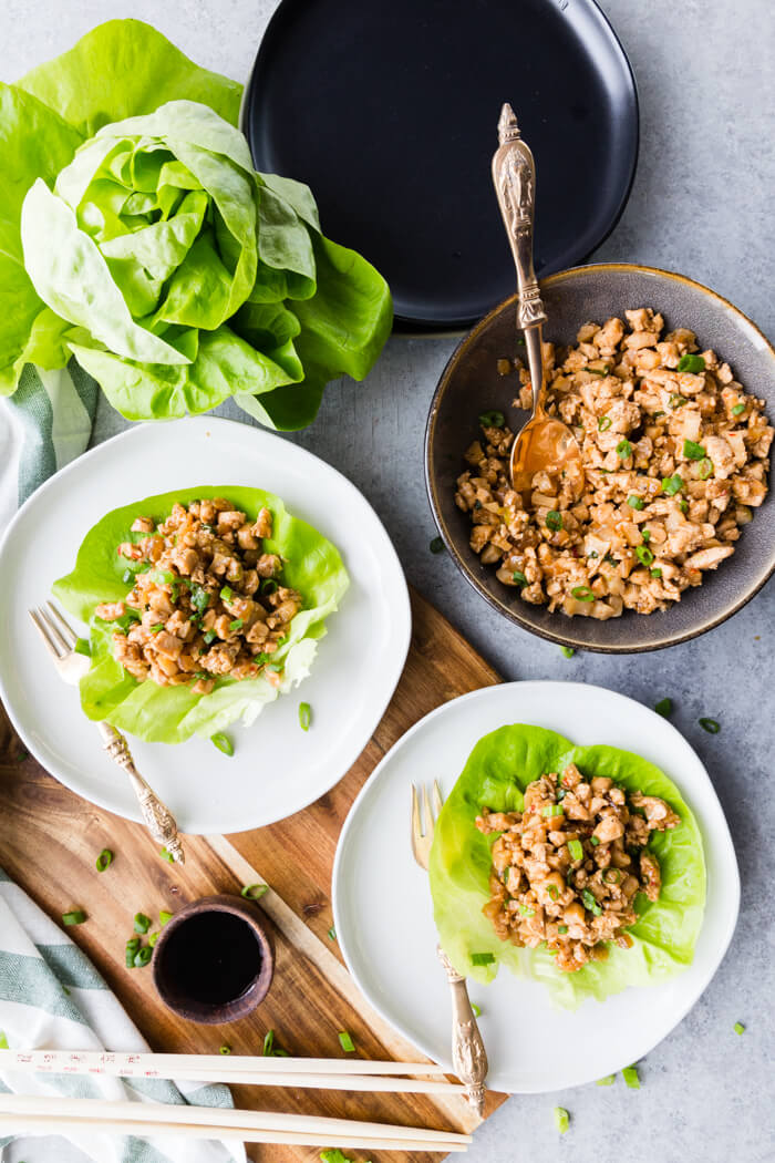 Chicken Lettuce Wraps, these P.F. Chang's Chicken lettuce wraps are full flavor and absolutely delicious.