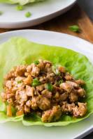 P F Chang's Copycat lettuce wraps with tons of chicken and crunch