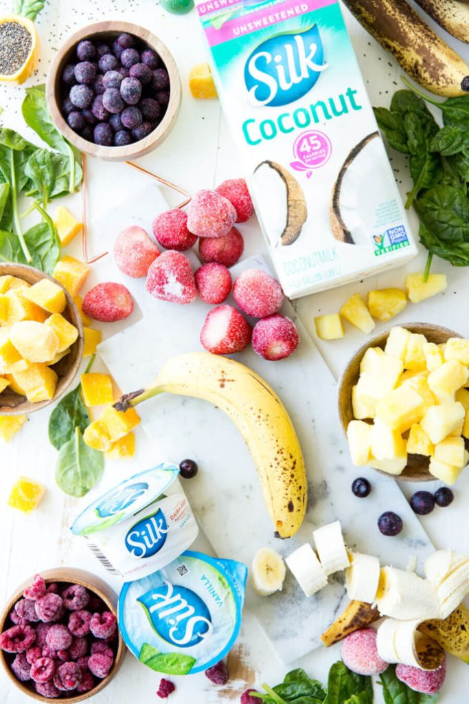 Freezer Smoothie Packs ingredients
