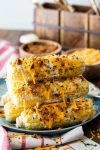 Cheddar bacon sweet corn is a perfect side dish, so much flavor