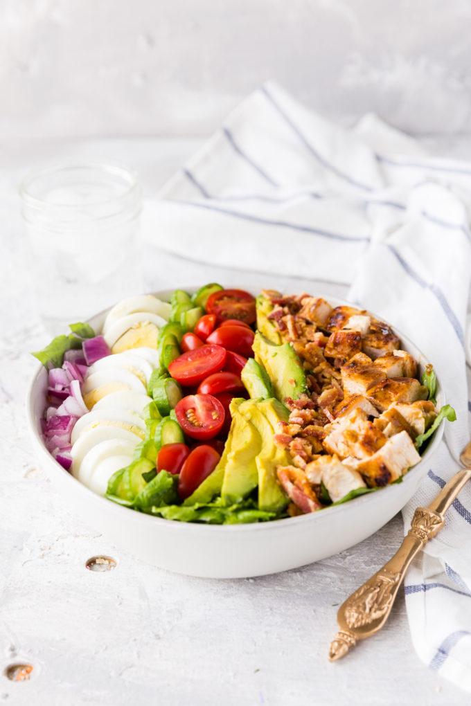 A delicious bowl of cobb salad