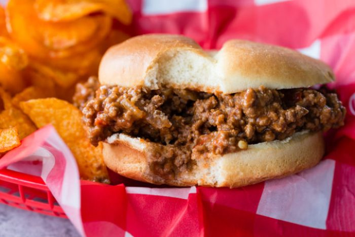 Instant Pot Sloppy Joes are an easy to make delicious sandwich filling.