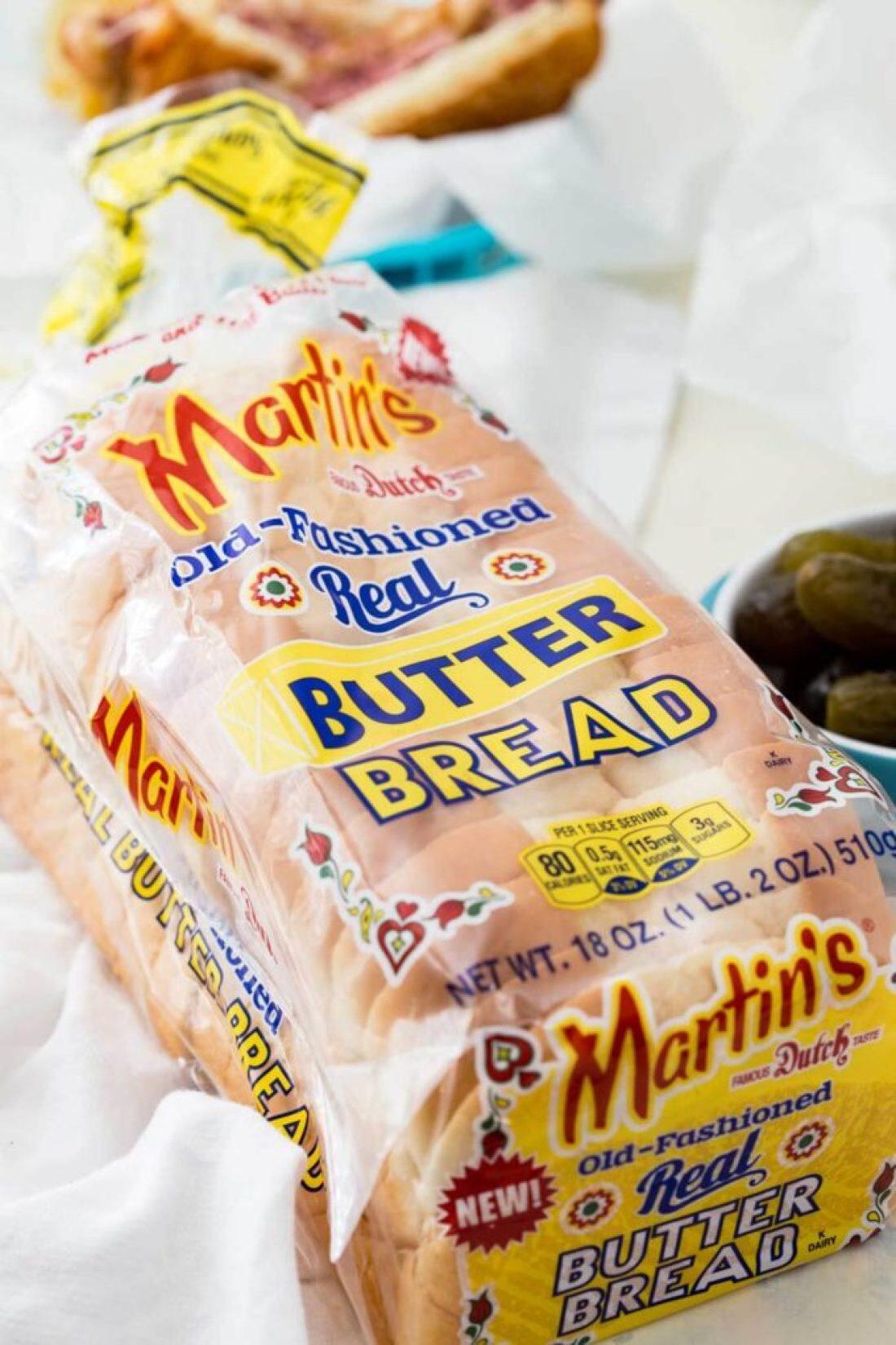 Martin's bread for a reuben sandwich recipe