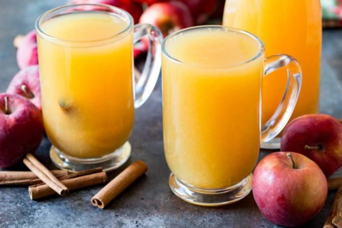 Hot wassail is a great and delicious seasonal holiday beverage