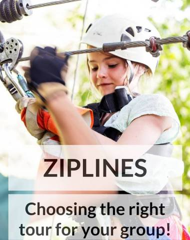 Family Vacation Ziplines, choosing the tour that is right for you