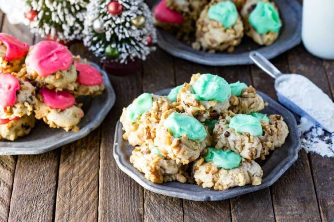 Christmas thumbprint cookies, a classic holiday thumbprint cookie