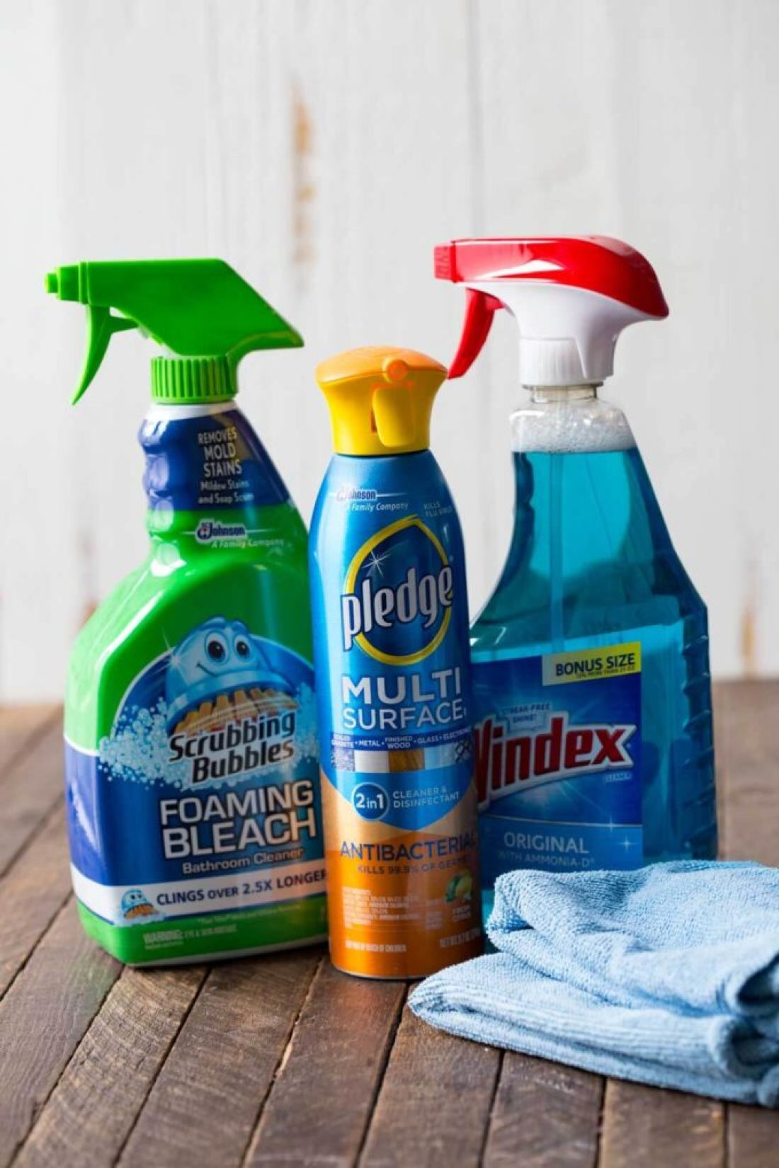 Cleaning products to get my home holiday ready