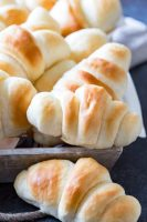 Simple and quick dinner rolls that will make you drool, they are just that good.