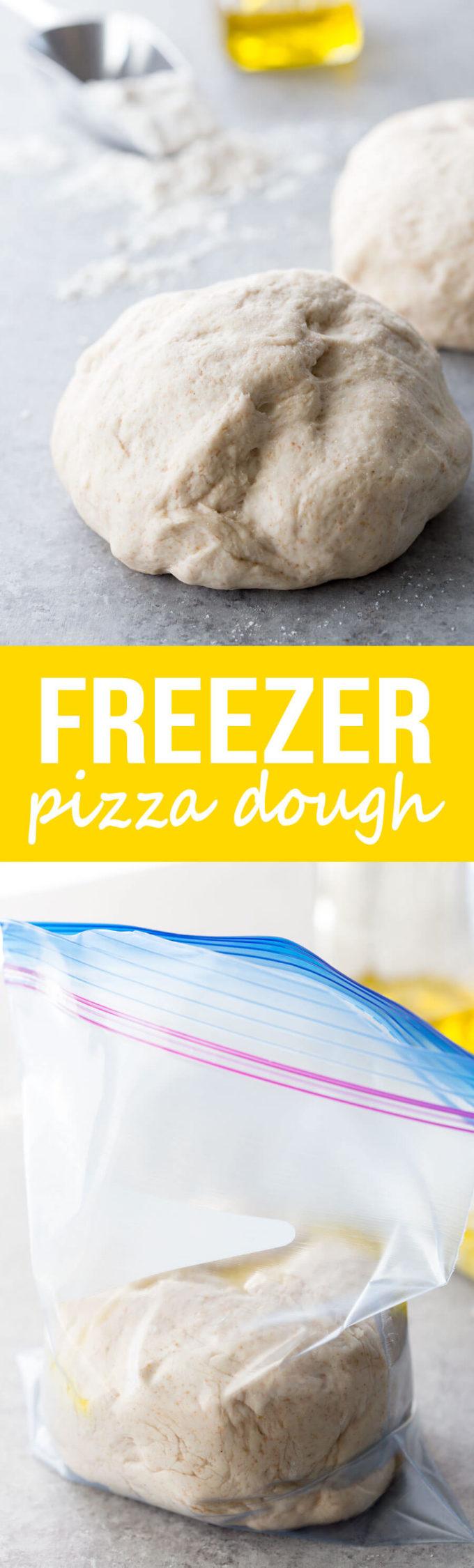 Freezer Pizza Dough