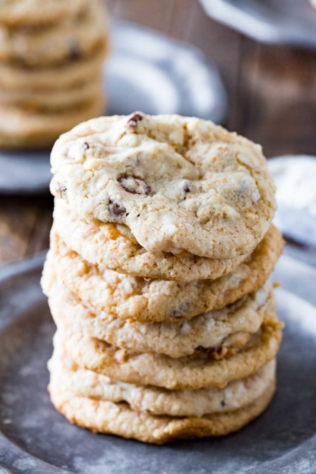 Delicious and easy graham cracker chocolate chip cookies