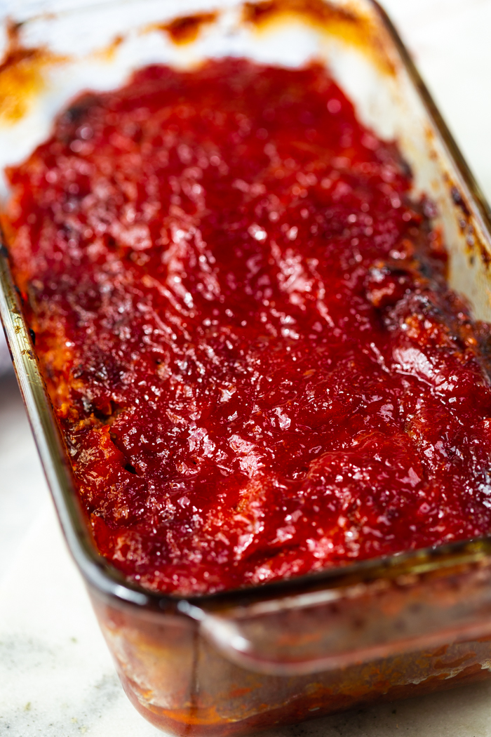 keto Meatloaf, a low carb version of your favorite comfort food