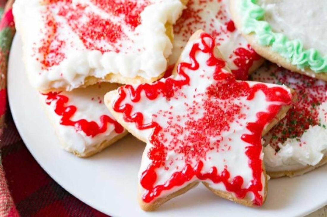 No Fail Sugar Cookies: Crispy edges, sugary flavor, and plenty of room for your favorite icing, make this sugar cookie classic one for your holiday arsenal!
