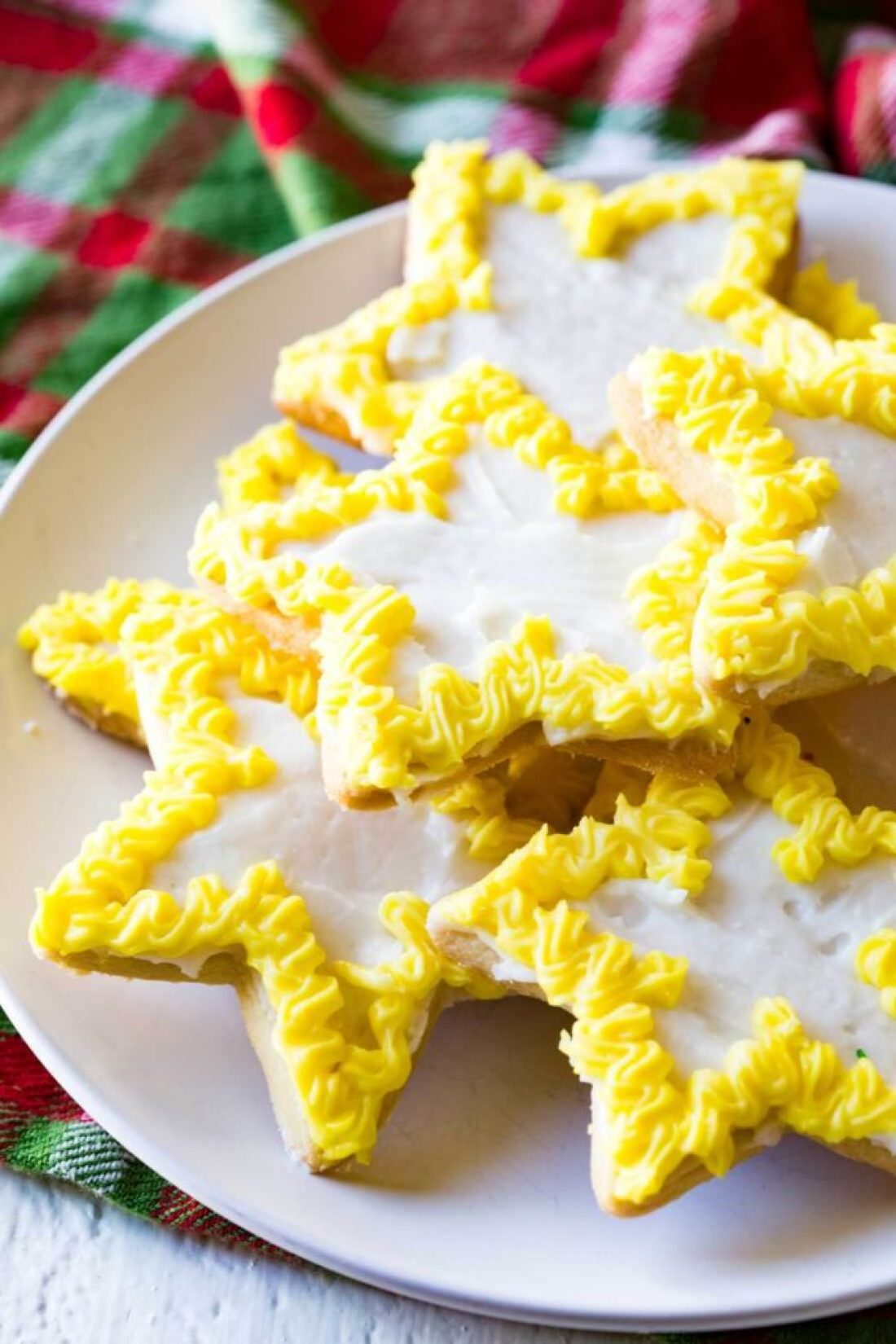 Christmas Sugar Cookie Recipe: Crispy edges, sugary flavor, and plenty of room for your favorite icing, make this sugar cookie classic one for your holiday arsenal!