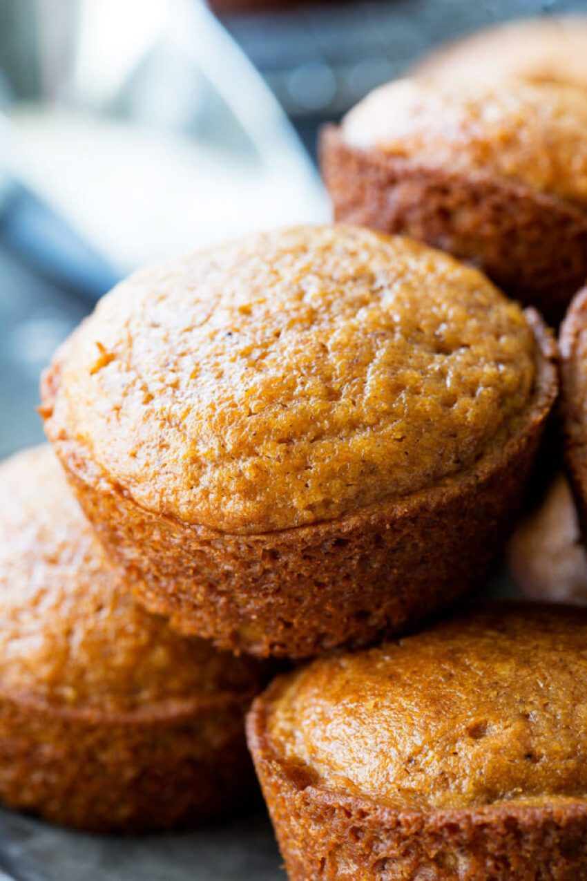These Pumpkin Spice Muffins are a cinch to make, absolutely delicious, and full of flavor. These muffins are perfection. Plenty of pumpkin, just enough spice, and not even close to dry, these moist flavorful muffins are perfect for Fall!