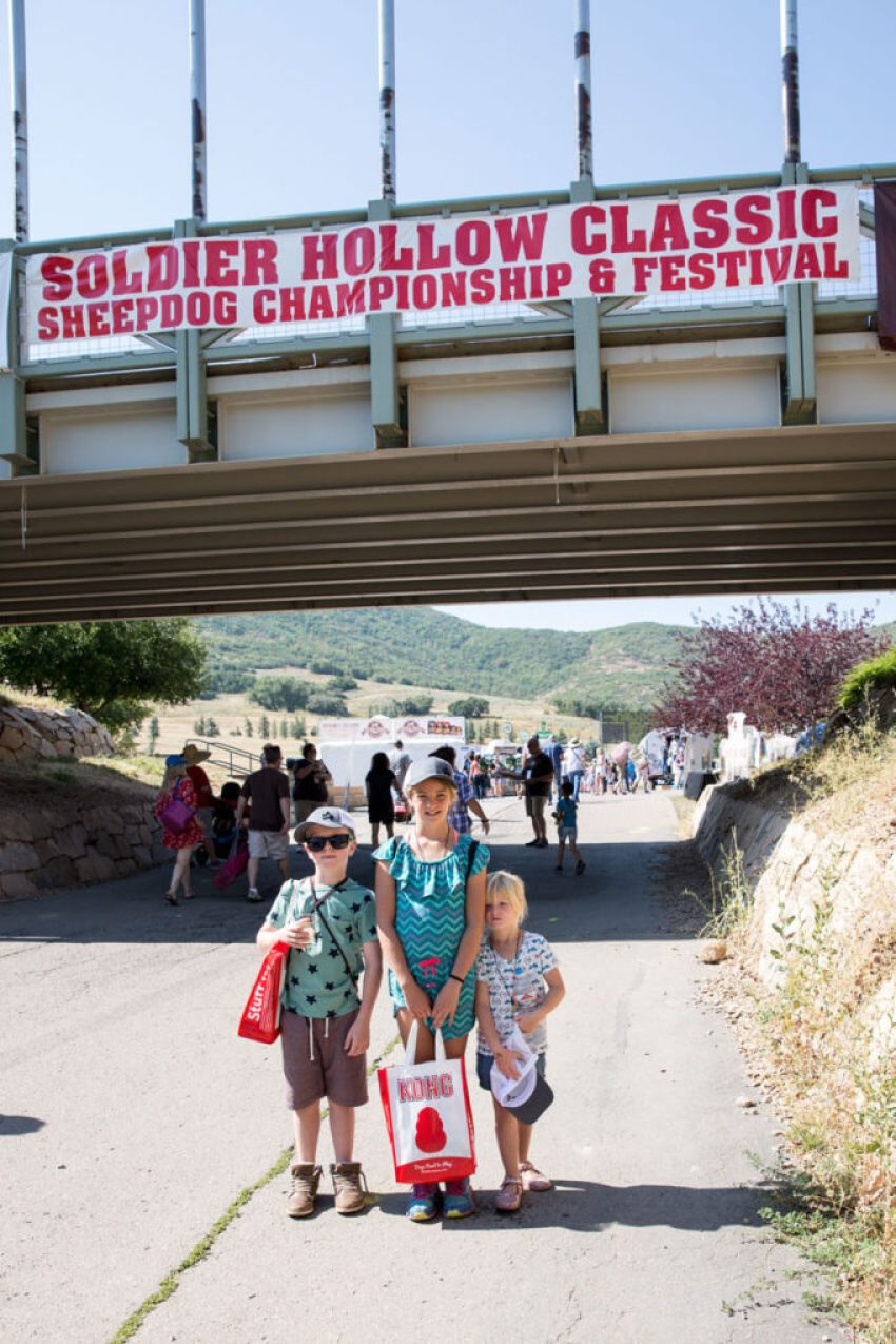 Soldier Hollow Classic A Sheep Dog Championship and a fun family staycation