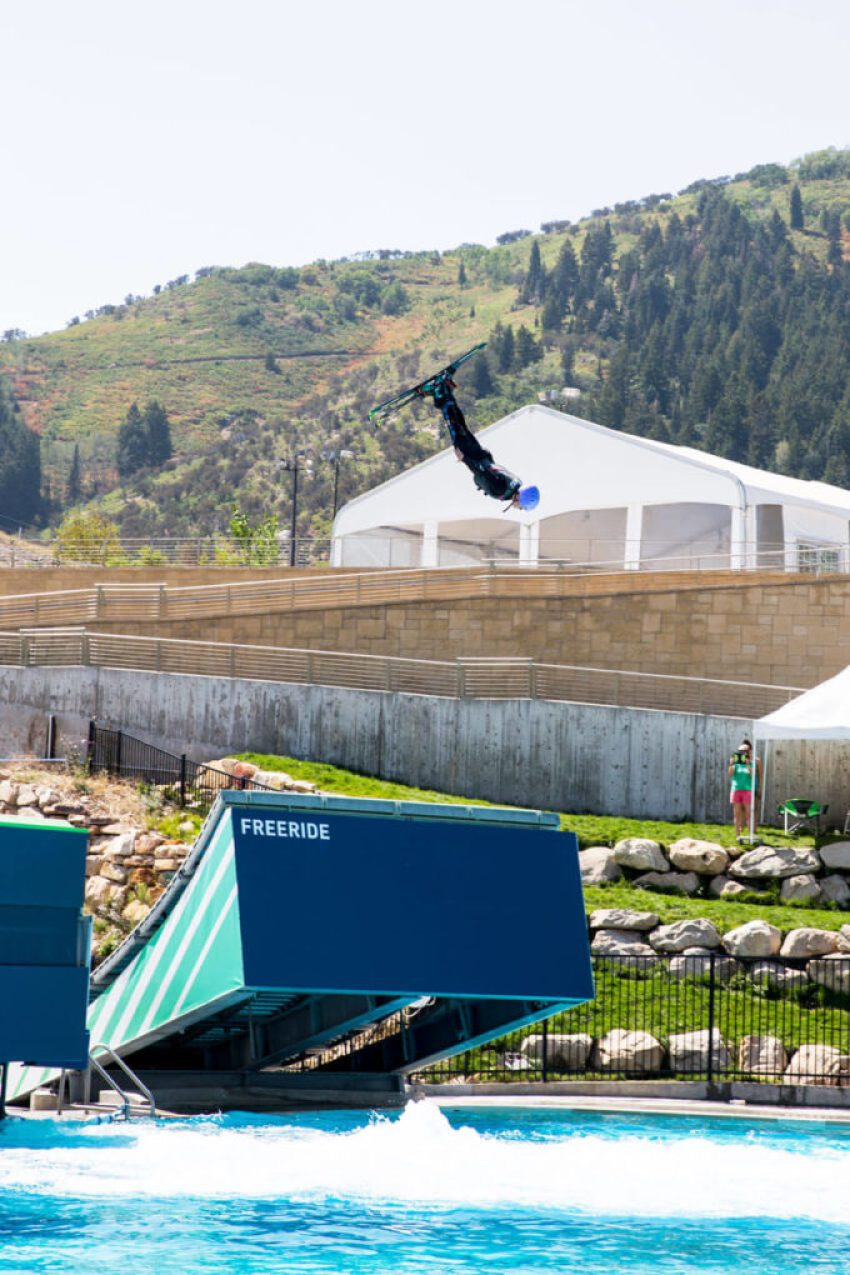 Utah staycation park city olympic park