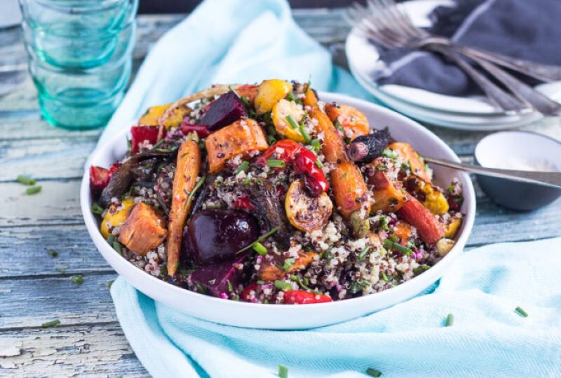 Quinoa and Roasted Vegetable Salad In content #3