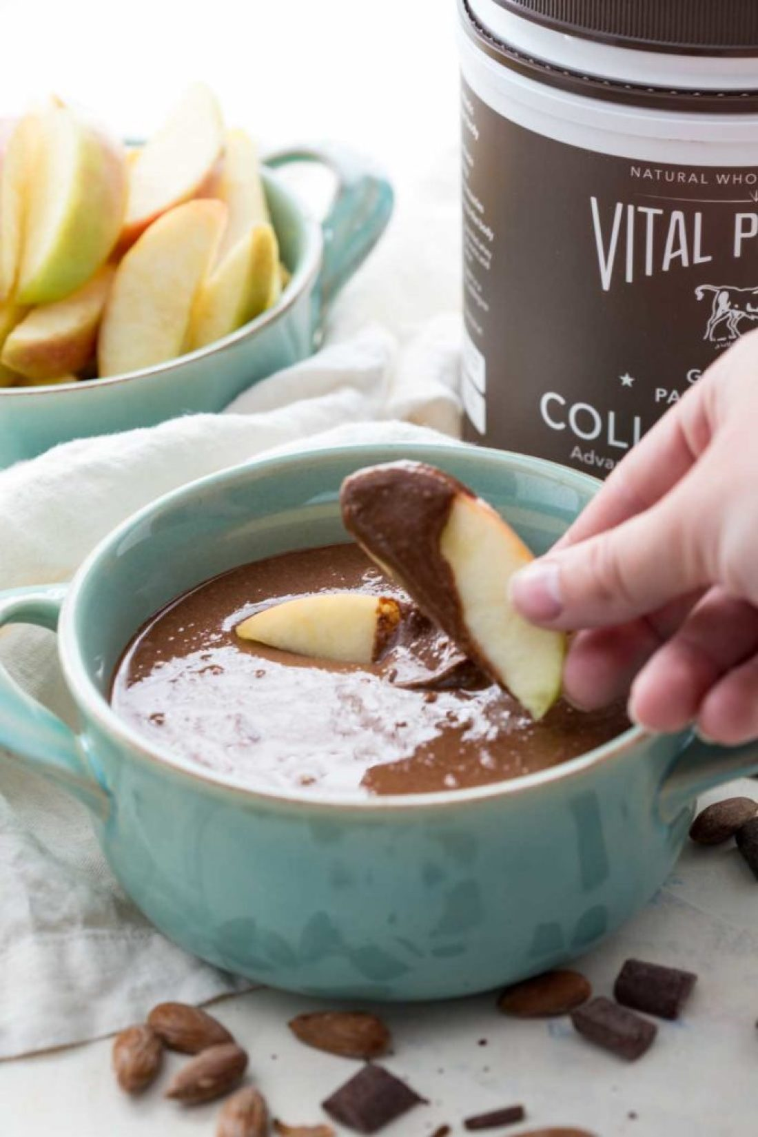 Almond Butter Recipe: Creamy, easy, and oh so delicious almond butter that whips up in minutes, and is chocolate-y nut butter dreams are made of.