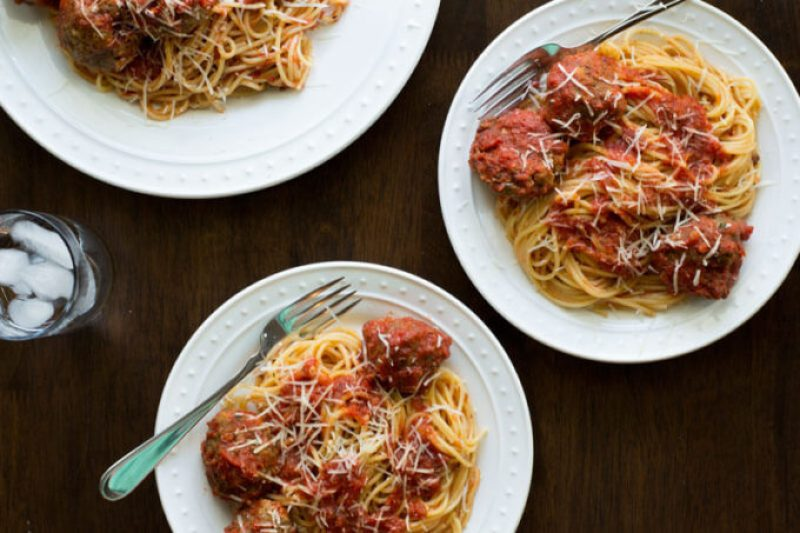 Old Fashioned Spaghetti and Meatballs