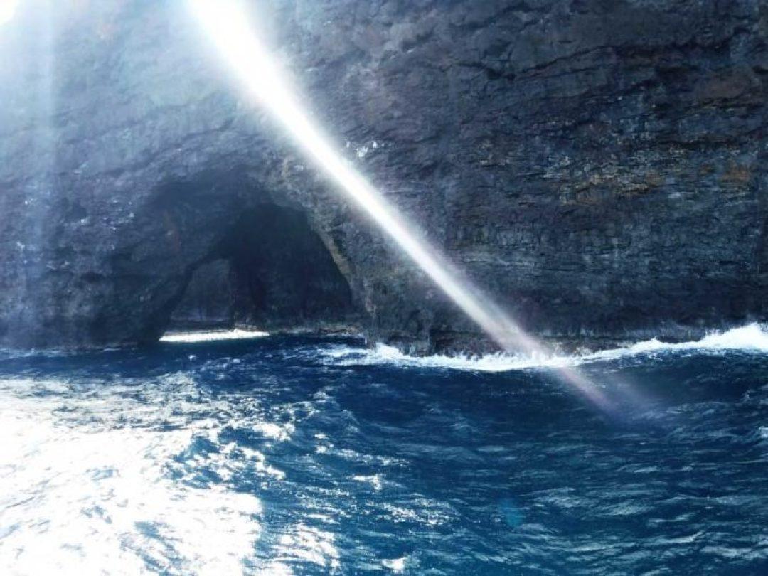 Napali Coast in Kauai Hawaii on a Holo Holo Charter Tour