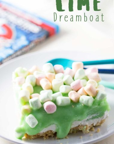 Lime cheesecake dreamboat dessert