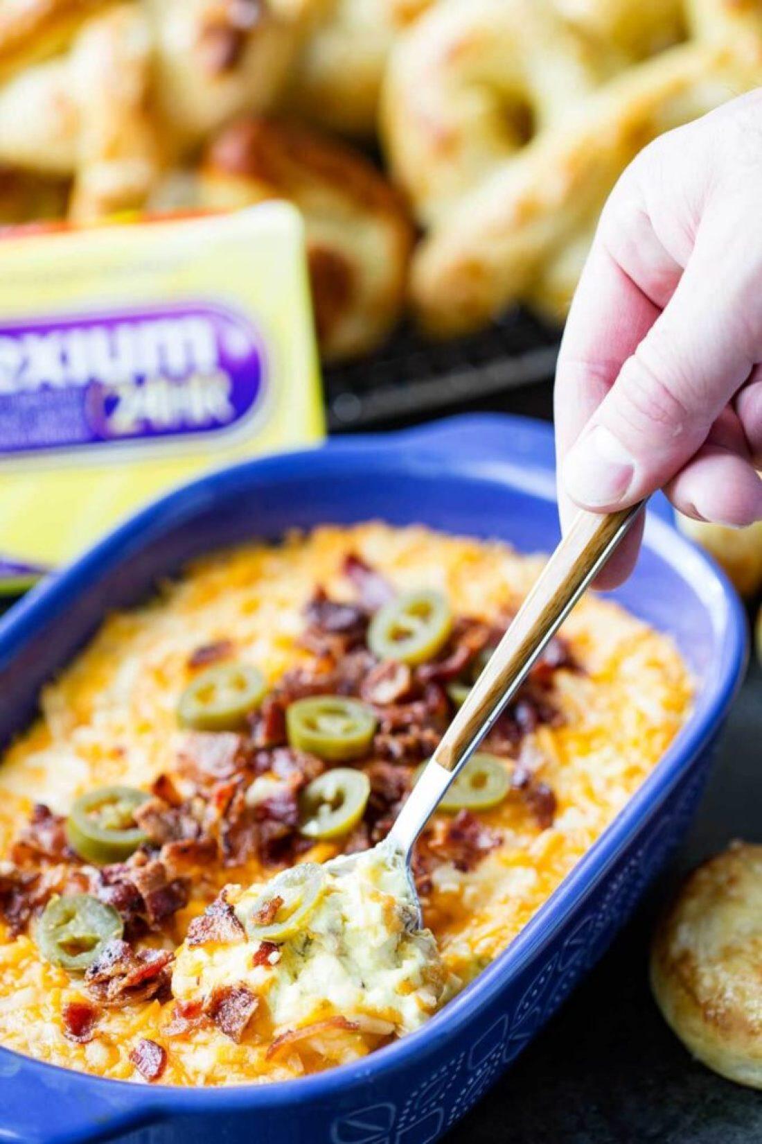 scoop-of-cheese-dip
