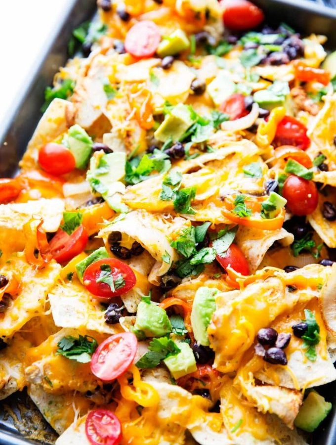 Sheet pan nachos are an amazing meal option and so easy to make