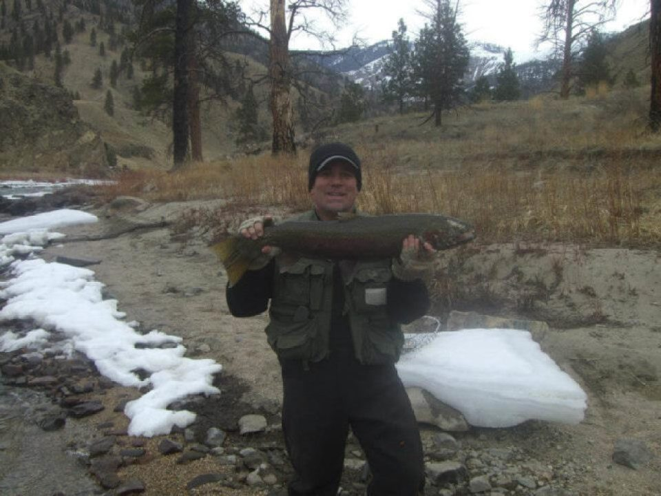 Catching Steelhead
