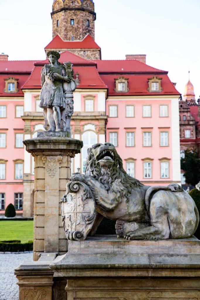 Castle Ksaiz in Poland