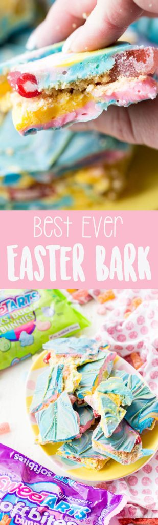 Stuffed Easter Bark, the best ever bunny bark