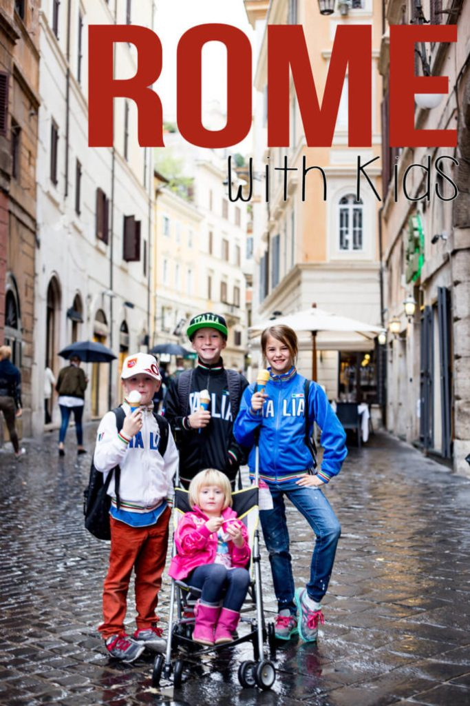 Rome with kids is the most amazing vacation ever