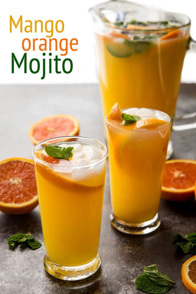 Mango Orange Mojitos are tasty and fresh, and absolutely delicious