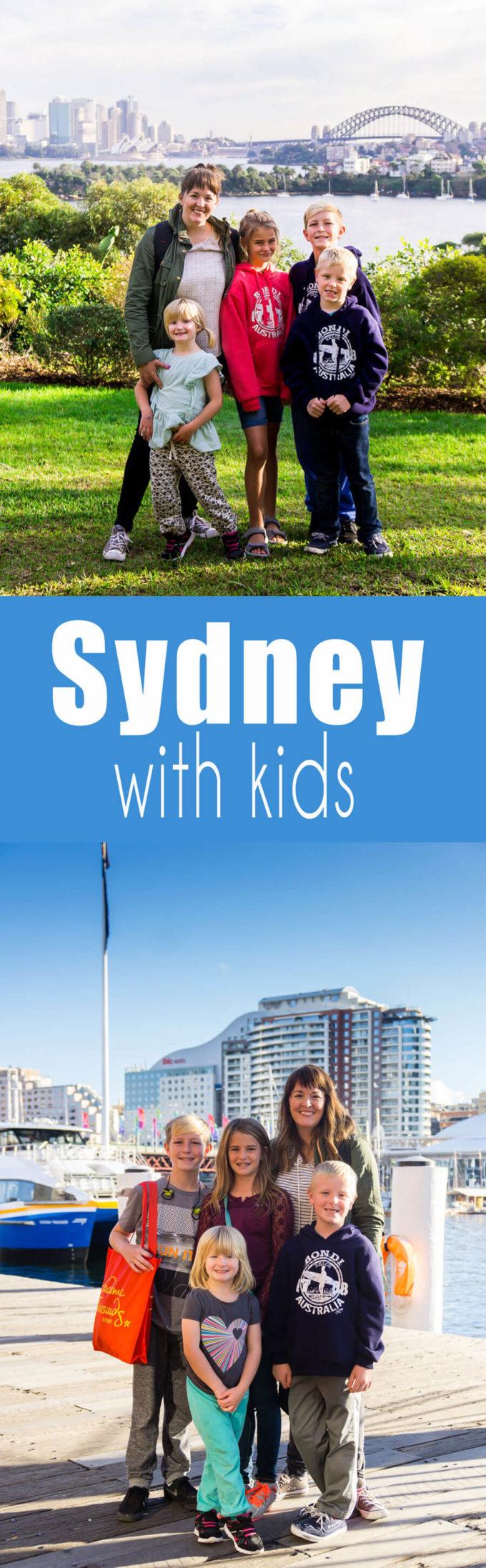 Visiting Sydney Australia with kids