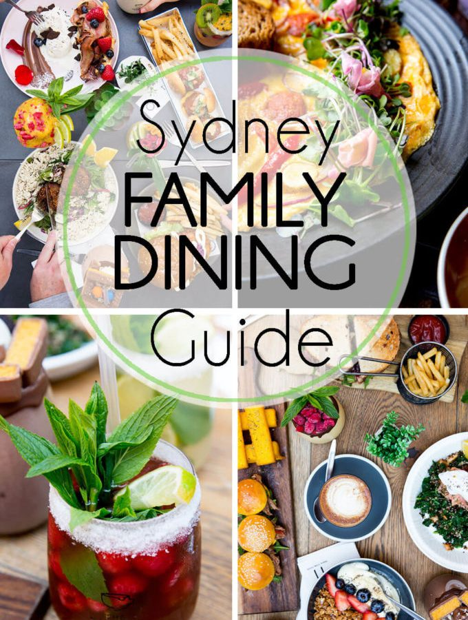Sydney Australia dining guide for families