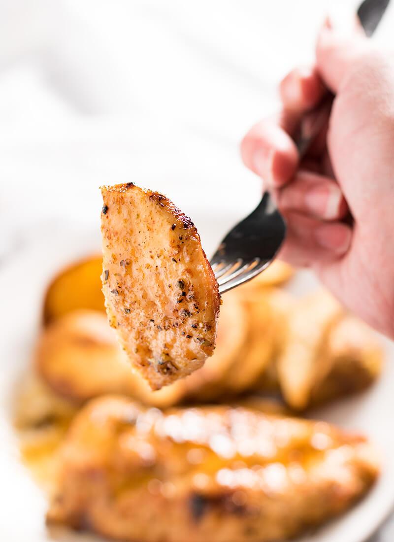 sheet pan cajun chicken and fries