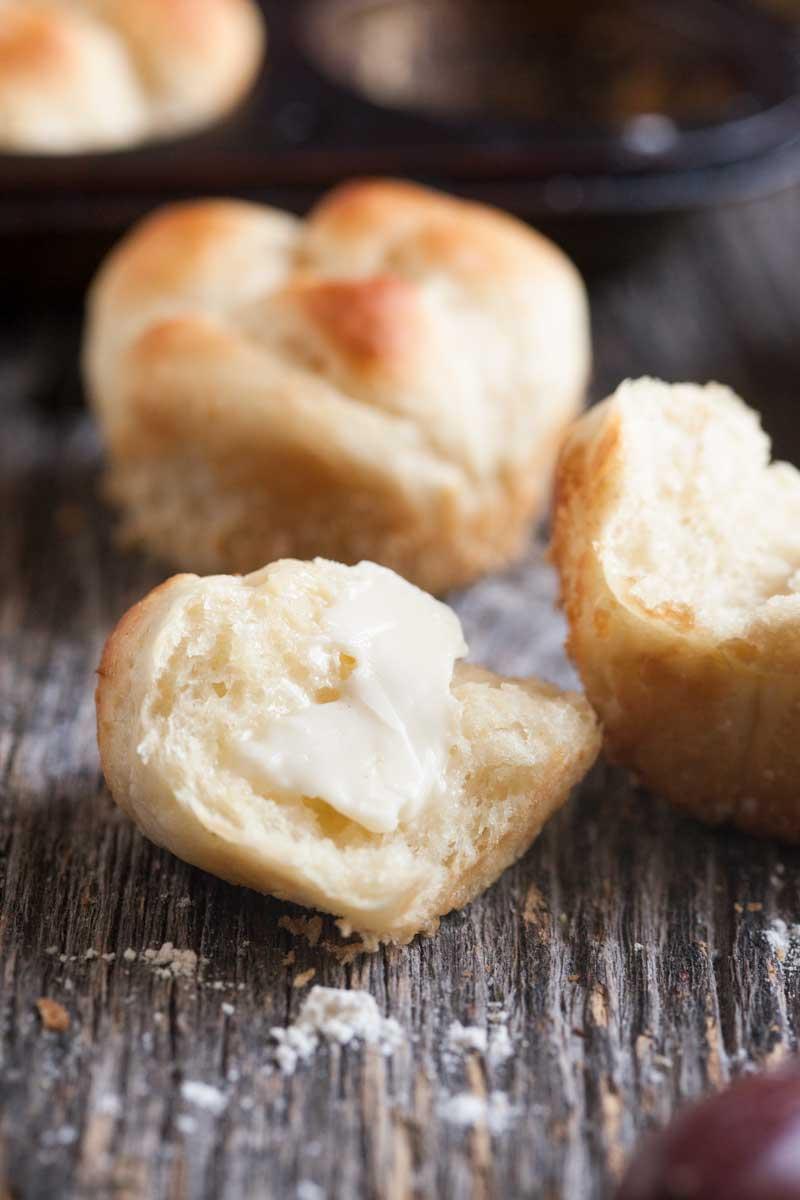 Sour Cream Yeast Rolls Easy Peasy Meals