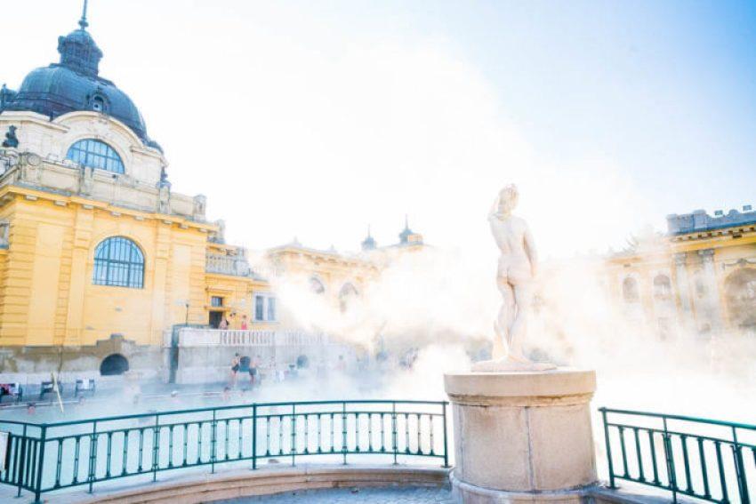 Szechenyi Baths, Budapest Hungary bucket list travel