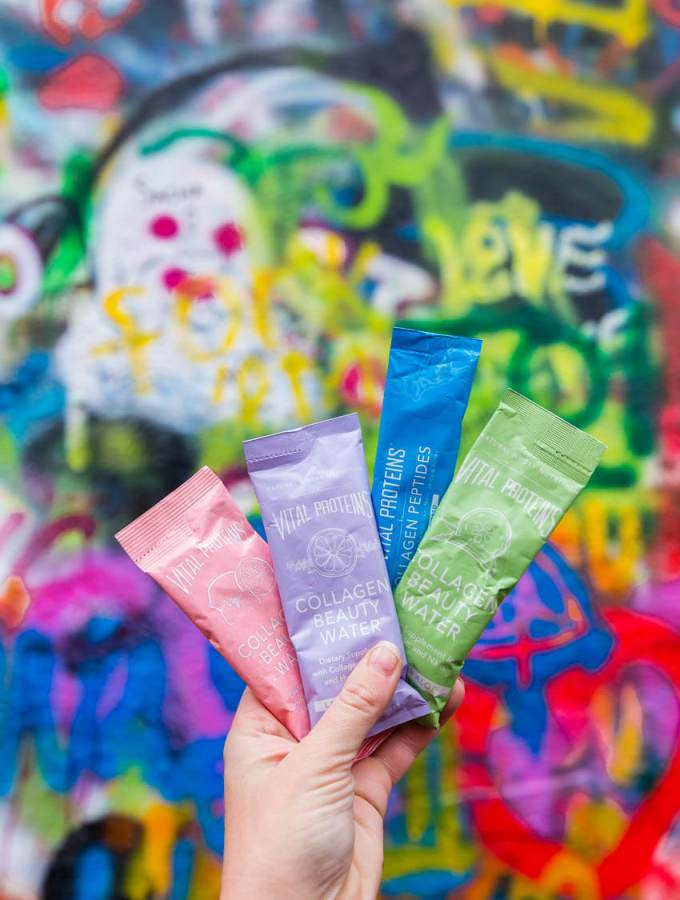 Vital proteins packets when traveling make hydrating easier